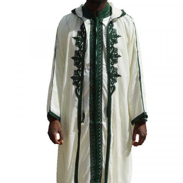 Jabador hoodie - white and green - 3pcs