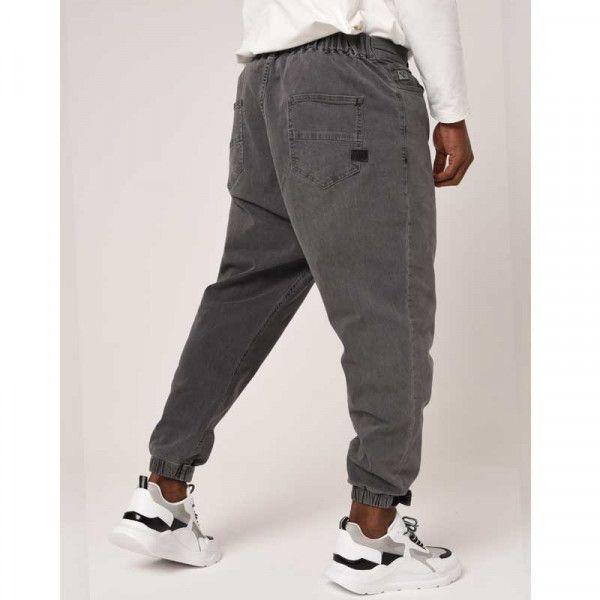Harem pants basic grey jeans - NIII Na3im