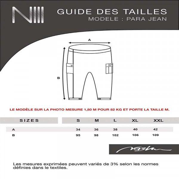 Harem pants para jeans - Black - NIII Na3im
