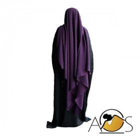 Maxi Hijab Prune