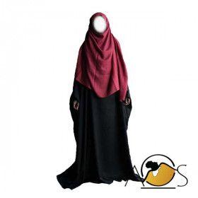 Maxi Hijab Burgundi