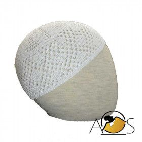 White Chachya in  cotton