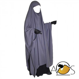 Maxi Khimar dark gray