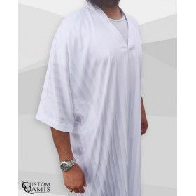 Gandoura Short Sleeves - various colors - Custom qamis