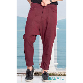 short pants Select burgundy - Qaba'il