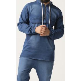 kameron sweatshirt - Light blue  - Qaba'il