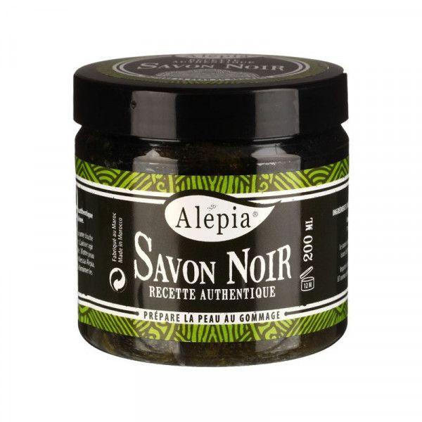 Authentic organic black soap