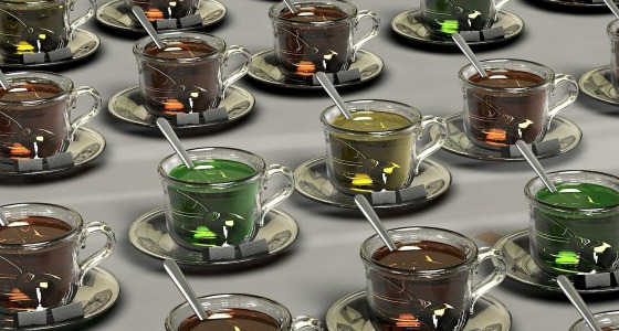 The different types of teas